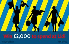 UK Only – Win to spend at Lidl Lidl, Drink, Free, Shopping, Ideas, Thoughts, Beverage, Drinks