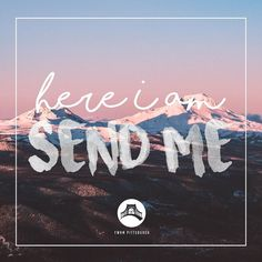 """""""Then I heard the voice of the Lord saying """"Whom shall I send? And who will go for us?"""" And I said """"Here am I. Send me!"""" Isaiah 6:8 . . . #jesus #love #ywam #ywampittsburgh #pittsburgh #god #life #eternal #youthwithamission #dts #ywam2016 #missions #bible #bibleverse #photooftheday #smile #follow #discipleship #instagood #happy #go #gointoalltheworld #412 #instadaily by ywam_pittsburgh http://bit.ly/dtskyiv #ywamkyiv #ywam #mission #missiontrip #outreach"""