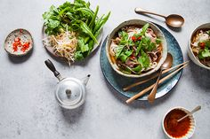 This phở is a combination of many tips from family and friends. I use gravy beef – my dad's touch – for sweetness. The shrimp paste and lemongrass are the X-factor additions, and the red dates and daikon reflect my Chinese heritage, and also enhance the soup's sweetness. #TheChefsLine