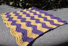 Waves Stroller Blanket