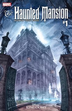 Haunted Mansion (2016) #1 (of 5) #Marvel @marvel @marvelofficial #HauntedMansion (Cover Artist: E.M. Gist) Release Date: 3/9/2016