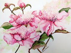 Peonies Painting-Karin Best