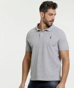 Camisa Polo, Polo Shirt, Mens Tops, Shirts, Products, Fashion, Men's Wardrobe, Cuffs, Sewing