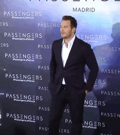 Chris Pratt / Passengers Premiere - november 30 - 2016 - Madrid