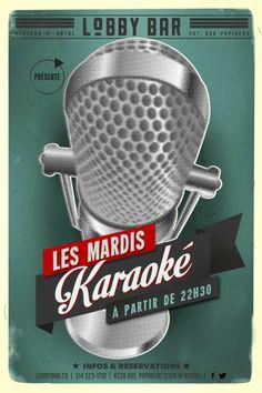 #Karaoke #Mardi #Tuesday #Plateau #lobbybar #nightlife #montreal  www.lobbybar.ca
