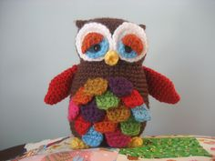 Ravelry: Mr. Hoot Amigurumi Owl Pattern pattern by Amy Gaines