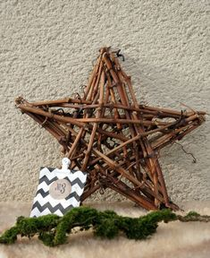 DIY | Star made from local vine cuttings | Hege in France