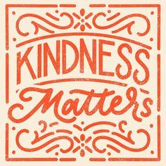 Today is world kindness day ✨ it never hurts to be kind to people. You never know what someone is going through and a simple act of… Pretty Words, Beautiful Words, Cool Words, Pretty Letters, Inspiration Typographie, Typography Inspiration, Types Of Lettering, Lettering Design, Lettering Styles