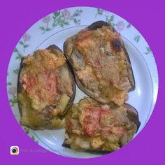 lericettediziasara: melanzane ripiene ( filled eggplant)