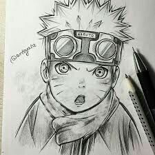 Little Naruto Uzumaki Drawing Naruto Drawings, Naruto Sketch, Anime Drawings Sketches, Anime Sketch, Manga Drawing, Cool Drawings, Anime Naruto, Fan Art Naruto, Naruto Shippuden Sasuke