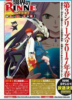 Spring 2017 -- Kyoukai no Rinne anime season 3 ~ #anime #animelover #otaku  #manga  #love