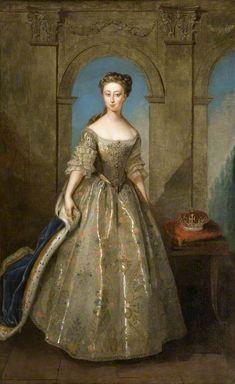 Princess Caroline Elizabeth by Phillipe Mercier,1728