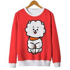 Peça disponível em nossos estoques, confira! Blusas Femininas Moletom Bts Jin Kpop Bt21 Kawaii Rj Fofo #kpop #bts #bt21 Funny Outfits, Kpop Outfits, Cute Casual Outfits, Camisa Bts, Zip Up Hoodies, Sweatshirts, Bts Shirt, Bts Clothing, Bts Inspired Outfits