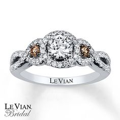 Le Vian Engagement Ring 1 ct tw Diamonds 14K Vanilla Gold - One of my Favorites