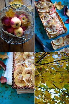 Tærte med æble & karamel