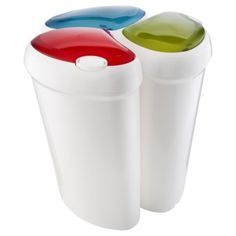 Buy A.B.M. Lotus Recycling Bin 3 Pack Blue/Green/Red from our Chests & Trunks range - Tesco.com