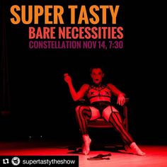 """#Repost @supertastytheshow: Don't miss Super Tasty: Bare Necessities. Thurs, Nov. 14, 7:30. 👄 Tix in bio! Line-up below!⠀ 🌟⠀ Super Tasty—an inclusive cabaret talk show about sex for everyone, no matter your gender, orientation, or preferences. Chicago Reader recommended: """"This crazy, sexy, cool talk show gives us the sex lessons we didn't know we needed.""""⠀ 🌟⠀ CHAT TOPIC: Body Confidence in the Bedroom ✨ How does body image affect sexual performance? Are there impossible standards of… Chat Topics, Body Confidence, Bare Necessities, We Need, Body Image, Cabaret, Lineup, Gender, Chicago"""