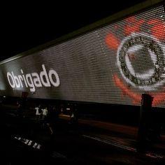 """Sport Club Corinthians Paulista - """"Obrigado ao @corinthians, pela grande apresentação, e à Fiel, que quebrou o recorde de público. Uma noite perfeita!  Bom dia, Fiel!  #Corinthians #Timão…"""""""