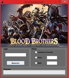 Download: http://cleanfiles.net/?U6mvWKr Blood Brothers Hacks & Keygen