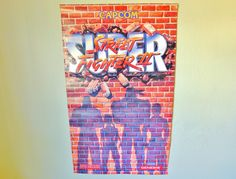 1992 Super Street Fighter II Poster, Capcom, Super Nintendo, Sega Genesis, Original Promo Poster, Full Color, Video Game Memorabilia, Vtg, by LavishMaidenVintage on Etsy