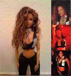Janet Jackson 'If' Barbie doll