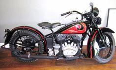 Steve McQueen's 1931 Harley Davidson VL 74