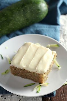 Cream Cheese Frosted Zucchini Cake (3)
