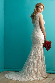 Wedding gown by Allure Bridals, Style W361