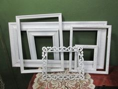 Vintage Picture Frames Set of 6 Various Size by LuRuUniques on Etsy
