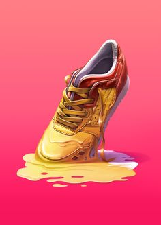 Vasya Kolotusha sneakers,illustration