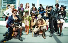 DC Steampunk photographed by Christopher Beyer for Entertainment Weekly