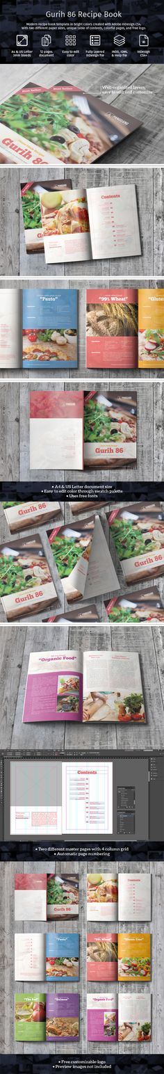 Carefully handcrafted cookbook in A4 & US Letter size --> https://crmrkt.com/0q64b. Available with Characters/Paragraph Styles.