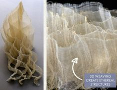 Recycled Yarns and 3D weaving by Moa Hallgren | The Cutting Class. 3D weaving by Moa Hallgren, Image 11.