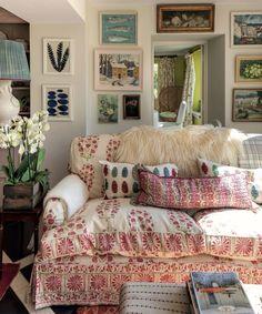 Interior And Exterior, Interior Design, Living Spaces, Living Room, Shabby, Love Your Home, Fashion Room, Home Decor Inspiration, Colorful Interiors