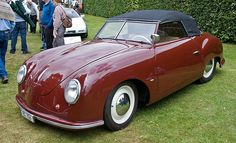 1948 Porsche 356 'Gmünd-Beutler' Cabriolet (the oldest surviving production Porsche)