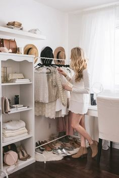 Maybe you've always dreamed of a giant closet