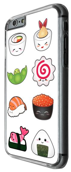 963 - Cool cute fun sushi doodle maki california roll food lover kawaii (2) Design For iphone 5C Fashion Trend CASE Back COVER Plastic&Thin Metal -Clear. 100 % Guarantee Delivery Between 5-12 Days. Touch design that moulds to your slim case design and does not feel bulky. very easy to fit and remove/Access to all your ports and camera. Many Different colours and design availble in our shop. iphone 5C.