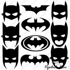 Batman Super-Helden SVG PNG schneiden Sie von Paperbackplane
