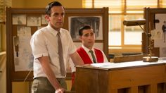 """The Sherman brothers were so cute in """"Saving Mr. Banks."""" :)"""