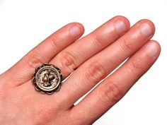 Antique Portrait Ring by ChatterBlossom #antique #vintage #ring #jewelry