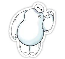Hello. I am Baymax Sticker