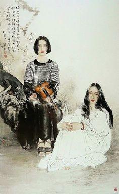 Él Jiaying, artista chino contemporáneo ~ Blog de un admirador del arte