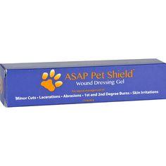 American Biotech Labs Asap Pet Shield Wound Dressing Gel 1.5 oz (42 grams)_ Gel ** Review more details here : Skin care