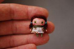 Tiny imaginary friends by Dollitude via www.ImaginativeBloom.com