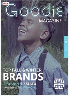 Arca Apparel on the cover of LA based Goodie Magazine www.ArcaApparel.com @ArcaApparel