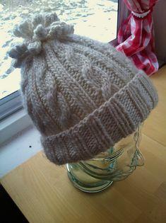 Ravelry: Cabled Cocoon Hat pattern by Brigitte Pieke