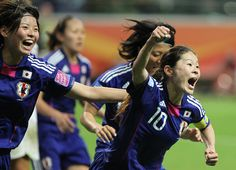 FIFA Women's Football World Cup final match Japan vs USA on July 17 in Frankfurt, Germany. Japan won the cup 3-1 in a penalty shoot-out after the final had finished 2-2 following extra-time.  (2011 Year in review)