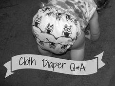 Young Texan Mama: Cloth Diaper Q&A