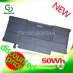 """34.67$  Watch here - http://ali7iv.shopchina.info/go.php?t=1965087042 - """"Golooloo 7.3V 6700mAh Laptop Battery For Apple MacBook Air 13"""""""" A1369 A1466 MC504 A1405 MC503""""  #bestbuy"""