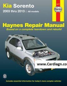 Free download honda cr v 2002 2006 haynes service repair manual kia sorento haynes repair manual for all models 2003 thru 2013 fandeluxe Gallery